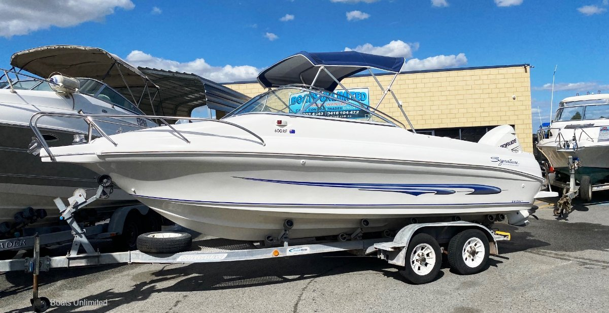 Signature 600RF GREAT FOR THE FAMILY AND FISHING