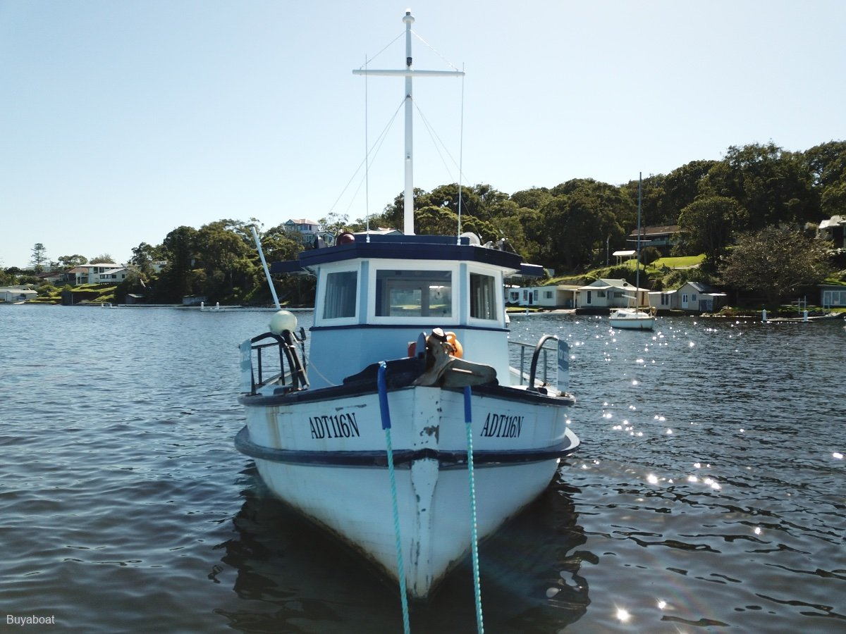 Custom Timber Cruiser Old Oyster Boat