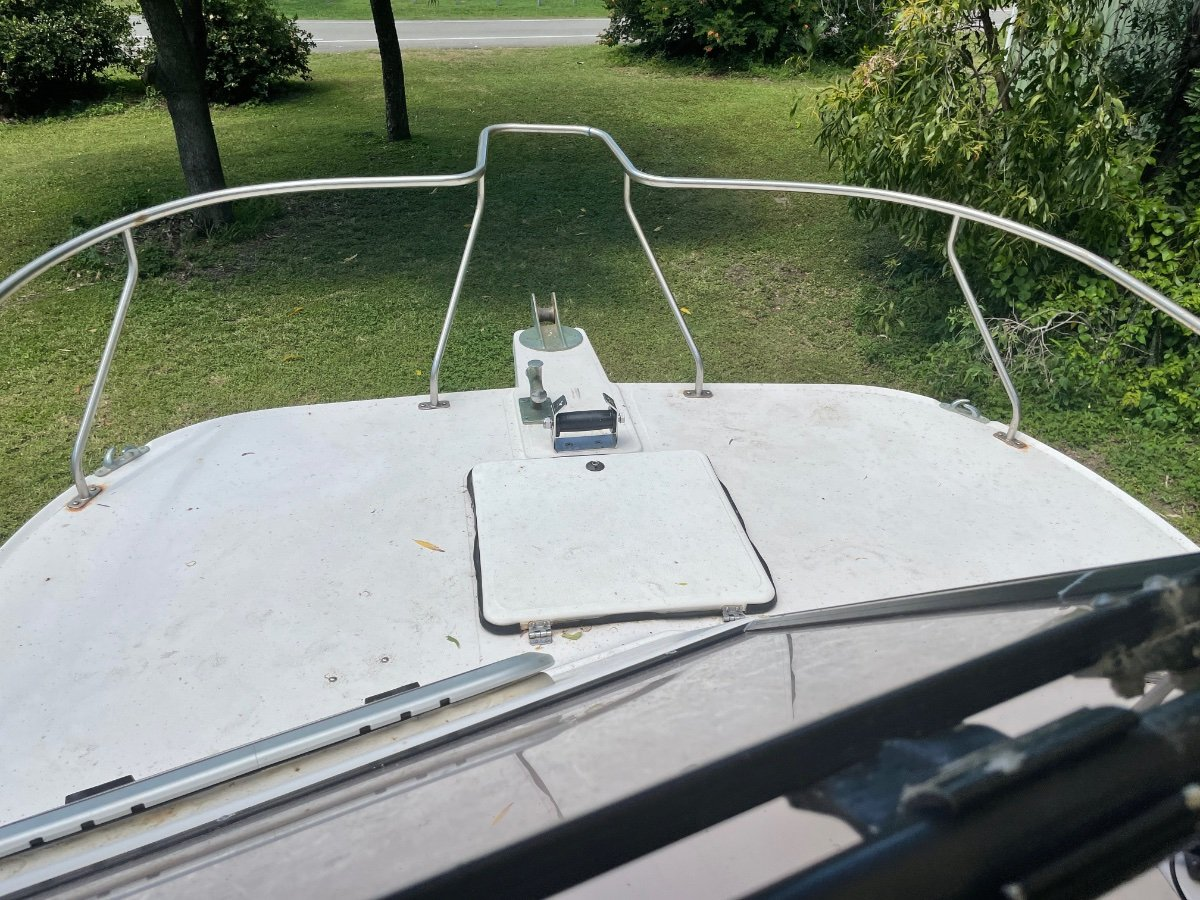 Kevlacat 6.2 Pro Sport on registered dual axle trailer