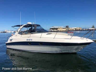 Bavaria Sport 330 New Manifolds and risers, clears and bimini + more