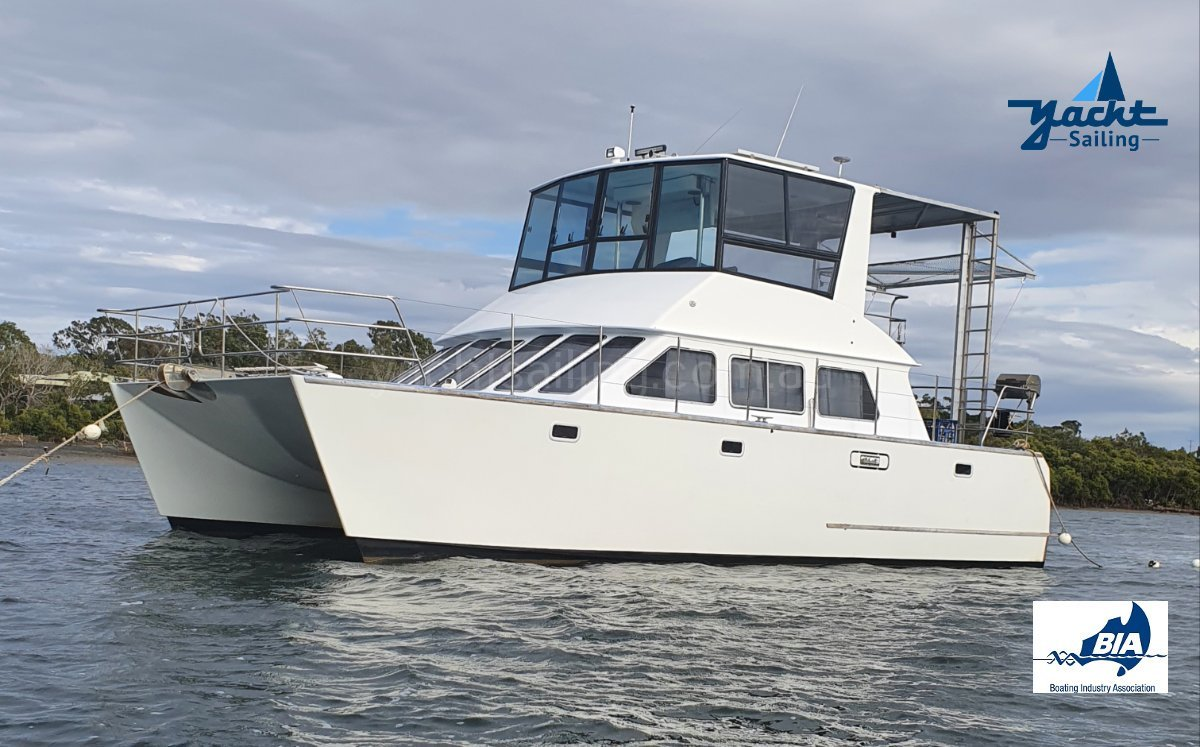 Brady 10.5m Power Catamaran Great livaboard