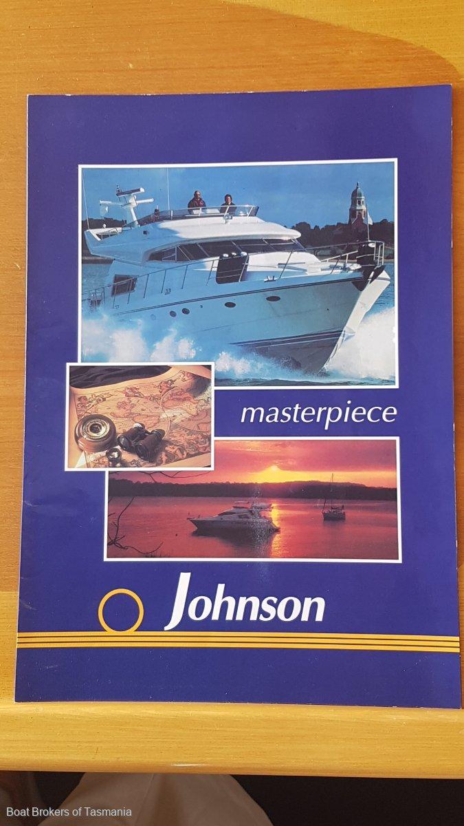 Johnson Motor Yacht Mediterranean aft cabin. Australian delivered.