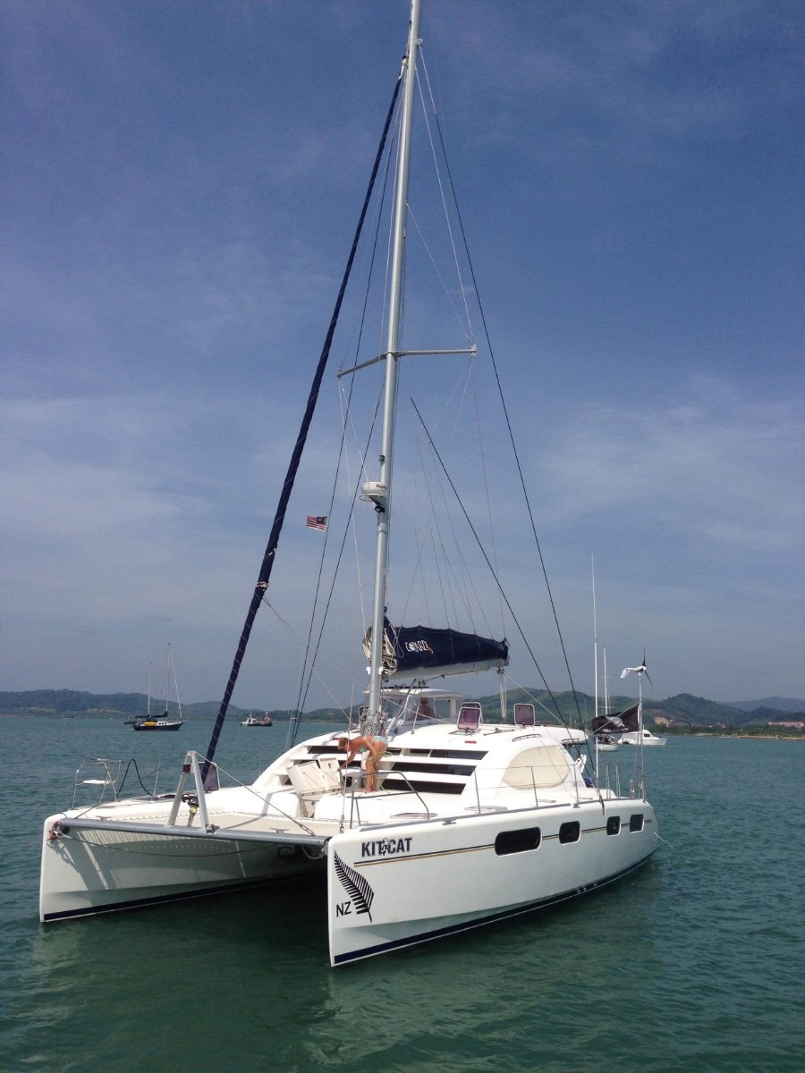 Leopard Catamarans 46 3 Cabin Owners Version