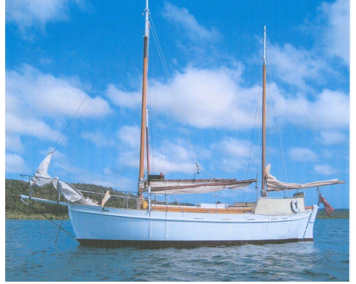 John Hanna Tahiti Ketch