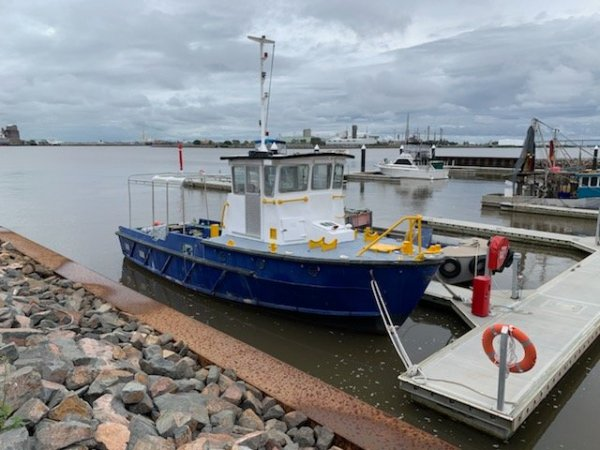 Twin Screw Alloy Tug/Workboat For Charter
