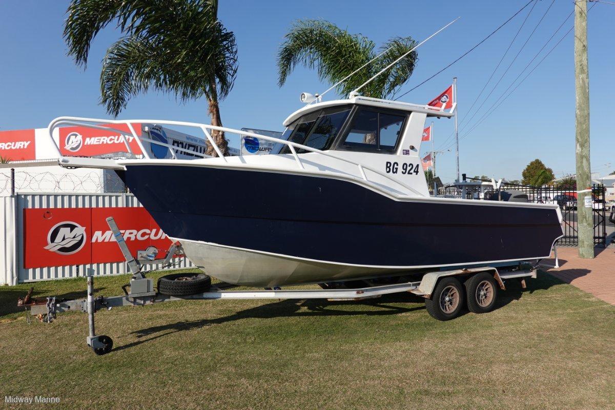 Deepwater 7M Plate Boat....