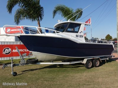 Deepwater 7M Plate Boat....