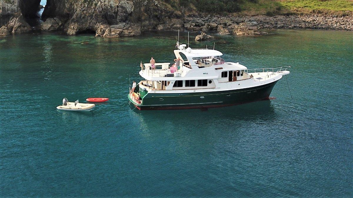 Selene 59 Widebody Pilothouse Ocean Trawler