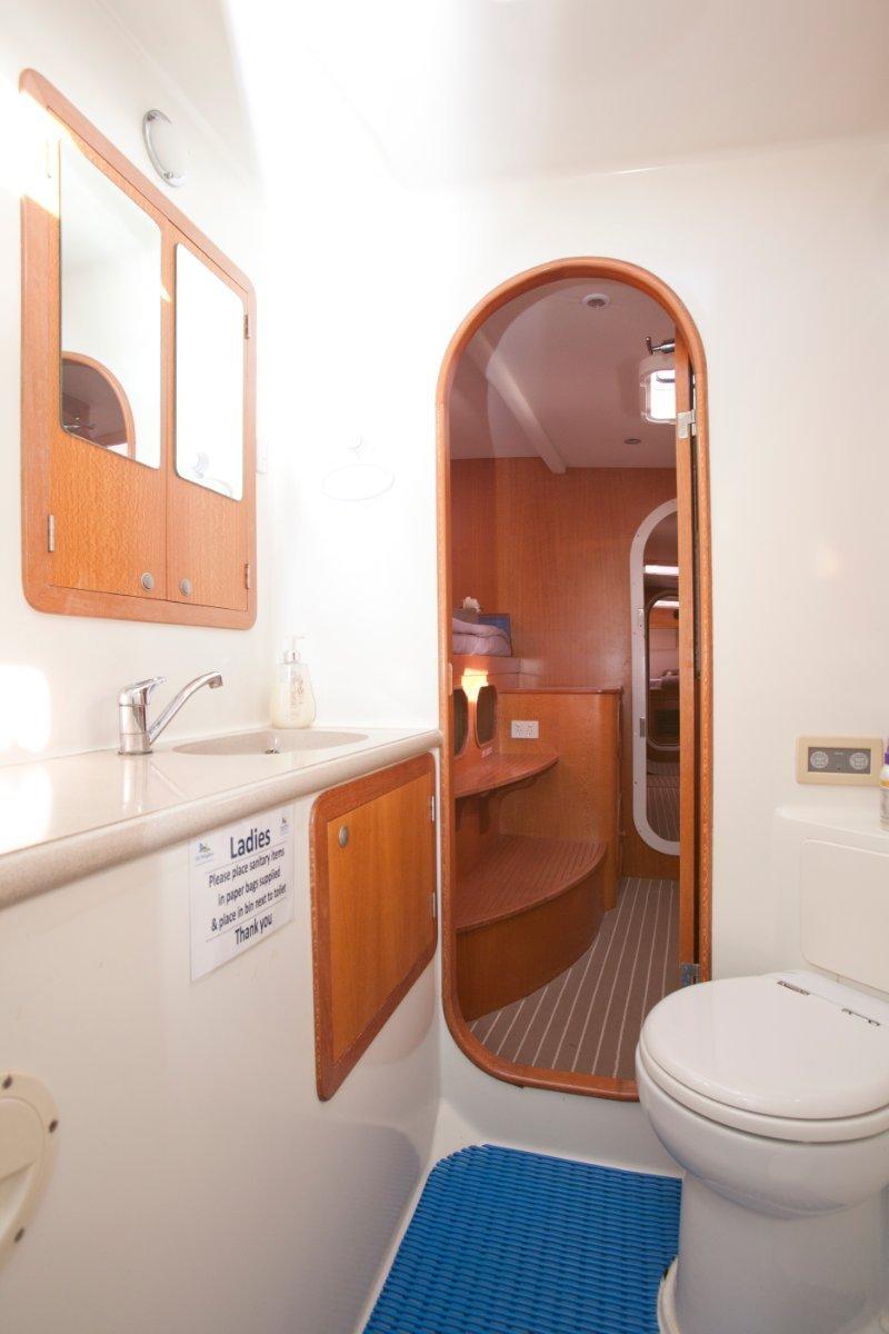 Roger Hill 15.9 Performance Cruising Catamaran custom built - in current commercial survey