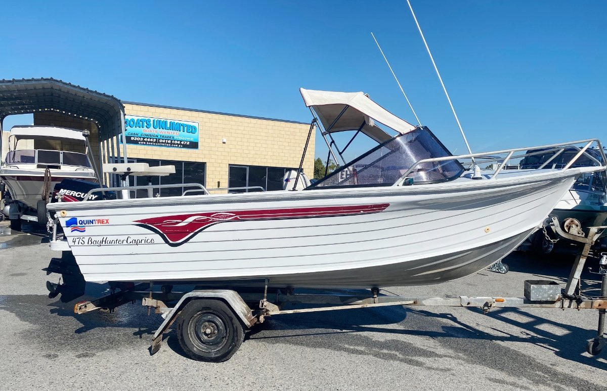 Quintrex 475 Bay Hunter Caprice:The Aussie Classic