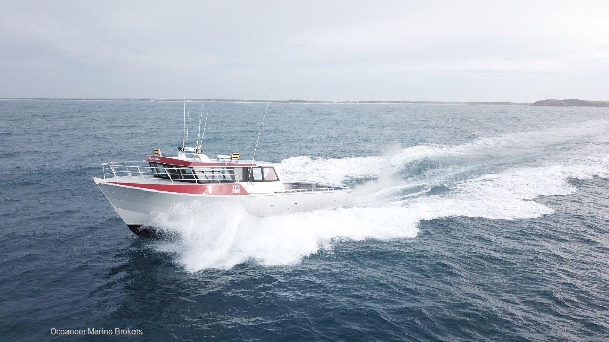 Gavin Mair Cray Boat Built by Kirby Marine