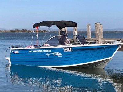 Quintrex 590 Freedom Cruiser