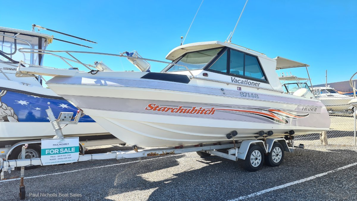 Fraser 7.0 Cabin GREAT ALL ROUNDER AND WELL PRICED TO SELL!!
