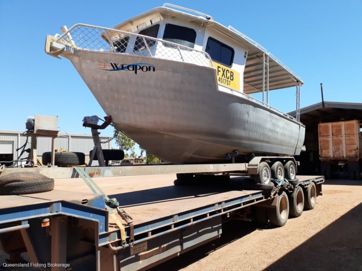 Custom 7.6m Line Fishing Vessel