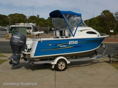 Quintrex 490 Spirit 2007 with 80hp Yamaha four stroke