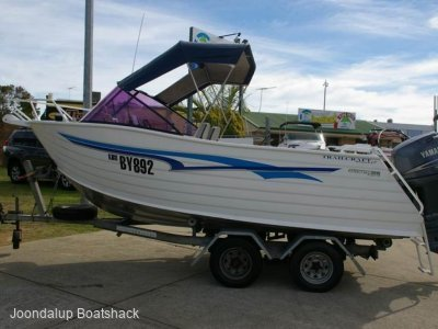 Trailcraft 500 Freestyle Yamaha 80hp four stroke 306 hours