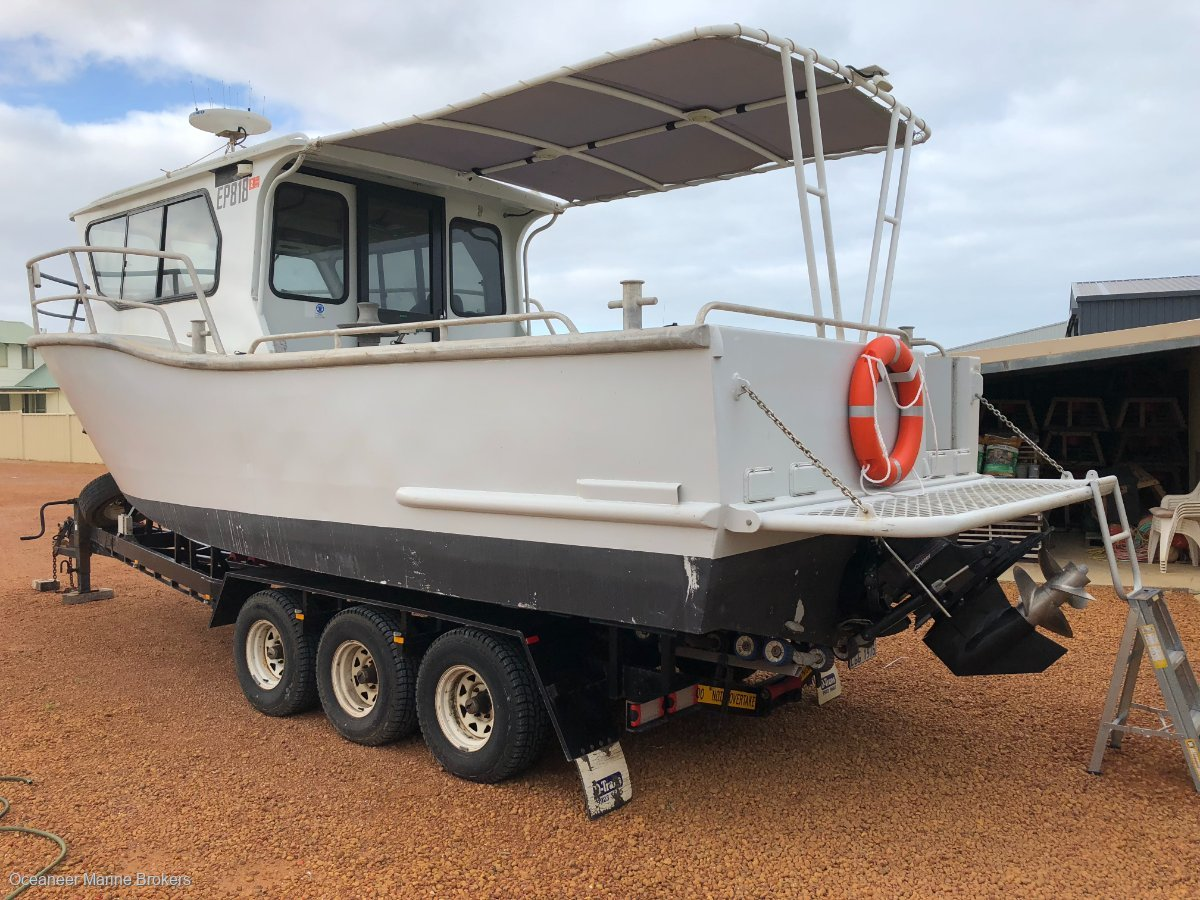 Seaquest 8.0 Fishing and Charter Vessel