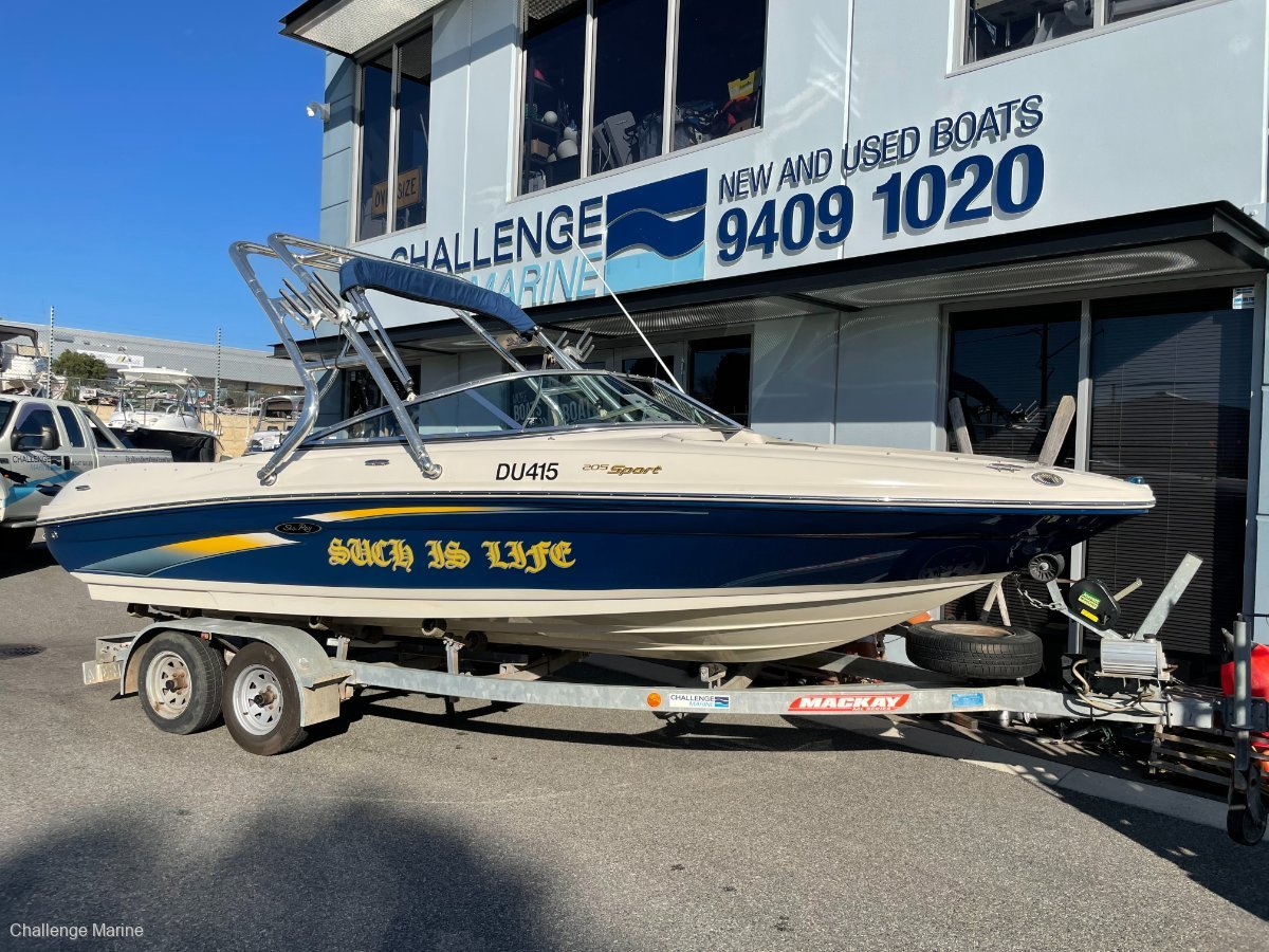 Sea Ray 205 Sport 1 owner from new !