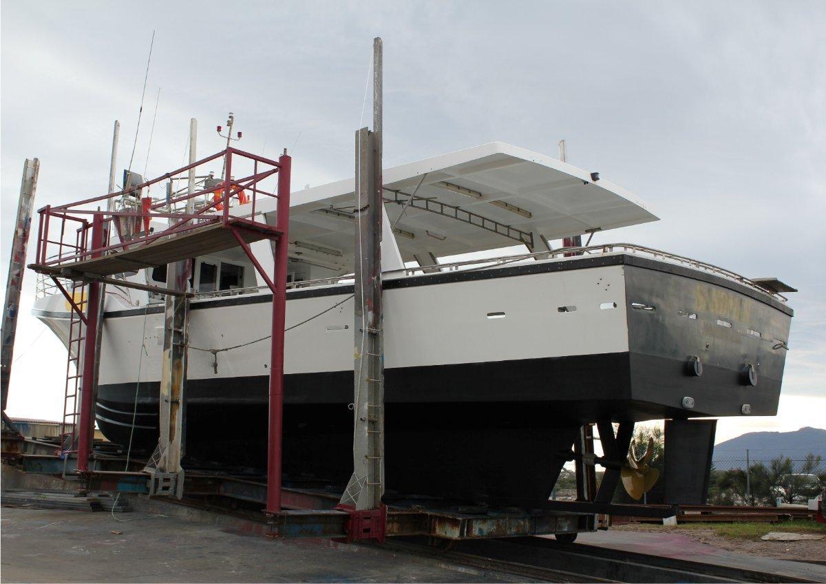 Edge Crayboats 60 Custom Set up for line fishing