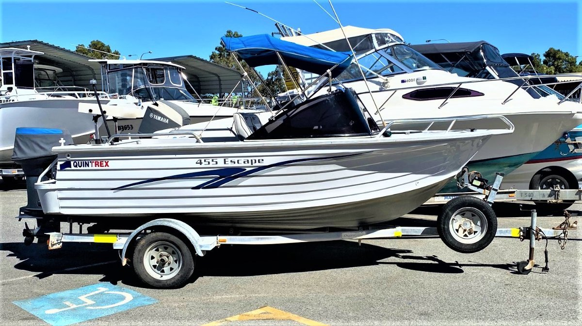 Quintrex 455 Escape GREAT FOR THE FAMILY AND FISHING