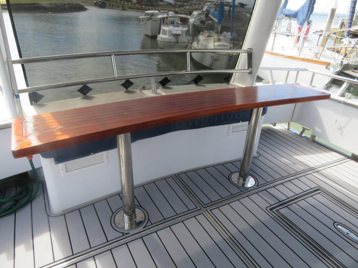 Custom long range Gardner powered offshore cruiser