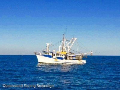 14.9m Timber Trawler