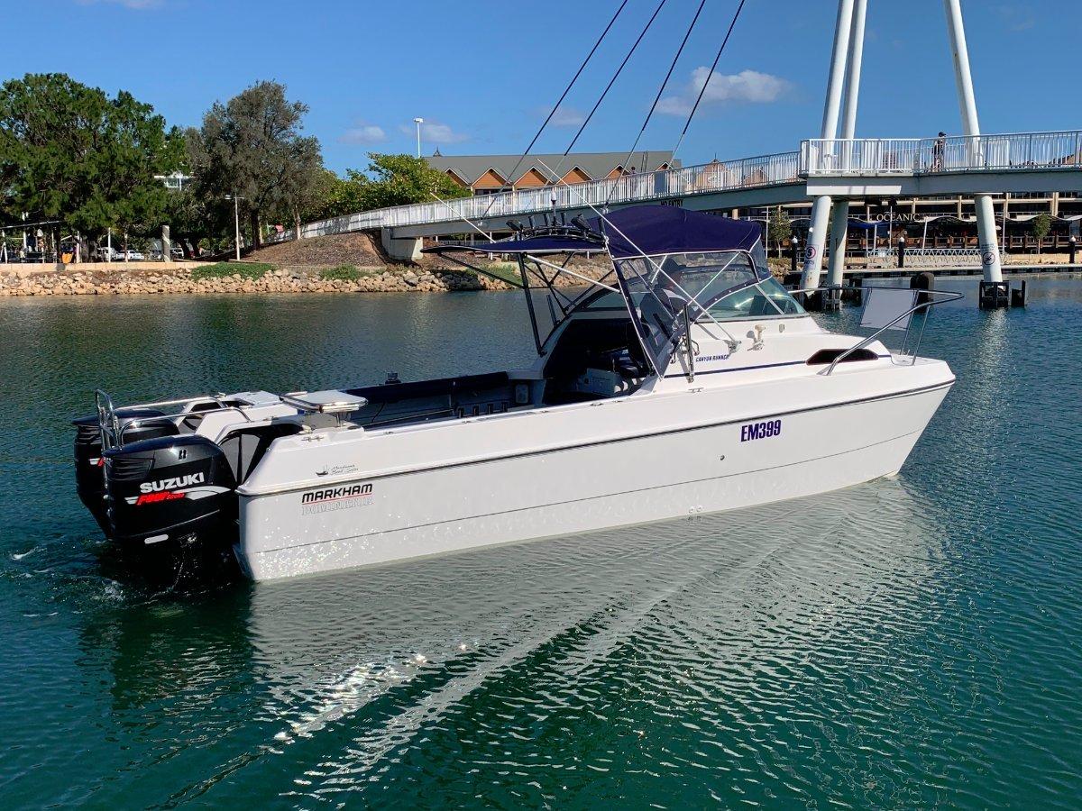 Markham 7.0 Whaler Catamaran