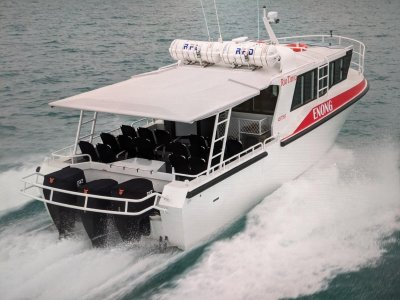 Saltwater Commercial Boats 11.99 Patrol Boat Crew Transfer, Workboat