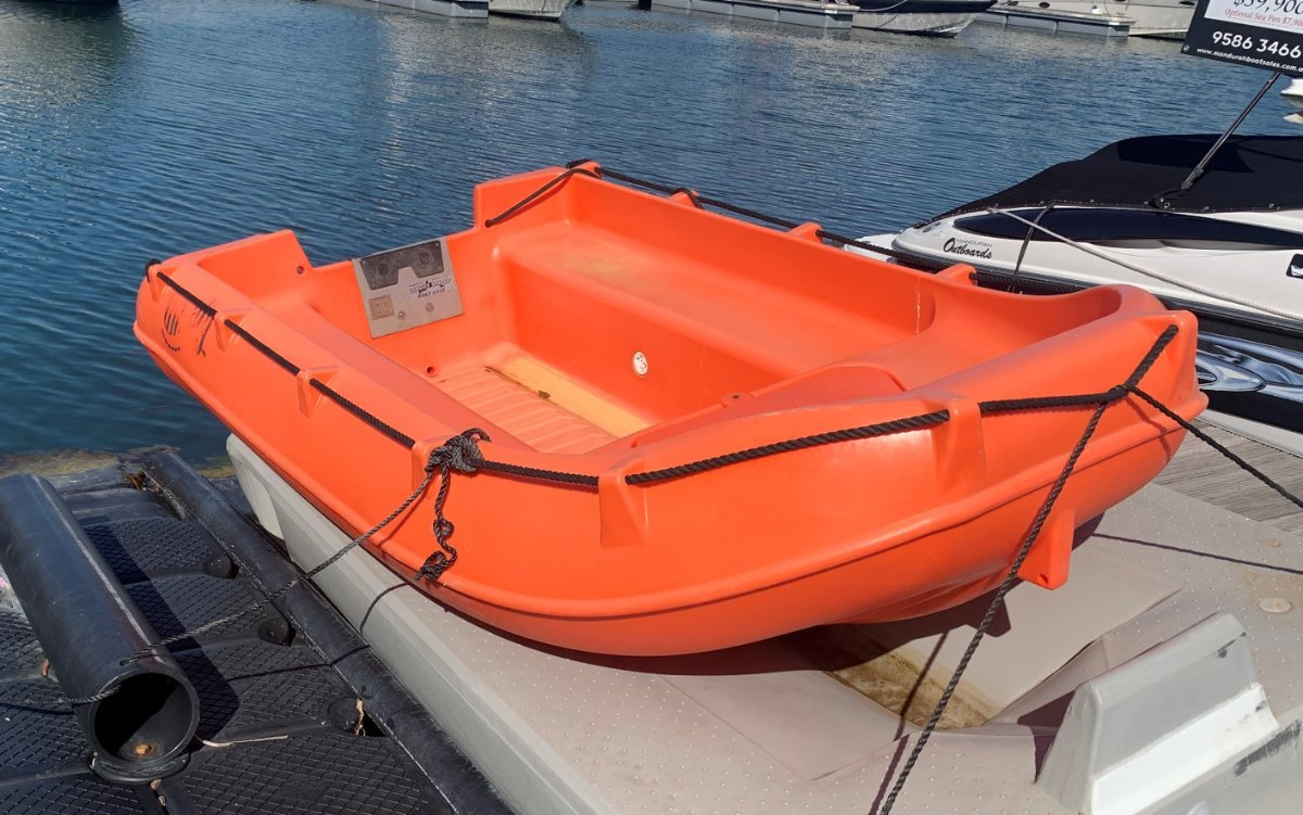 Whaly Runabout Dinghy - Includes 4-Stroke Suzuki Outboard