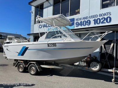 Westerberg 610 Hardtop 157 hours from new'