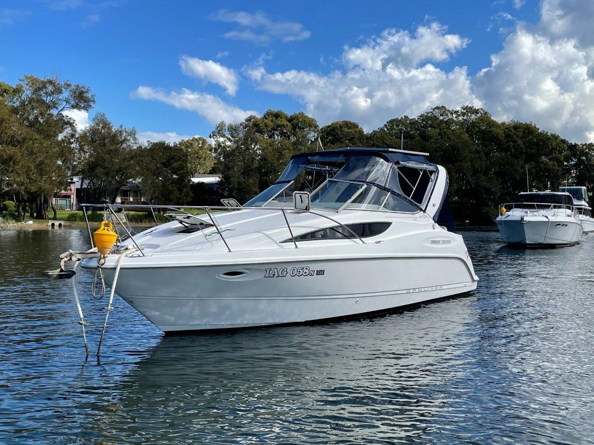 Bayliner 2855 Ciera Sports Cruiser + recent survey