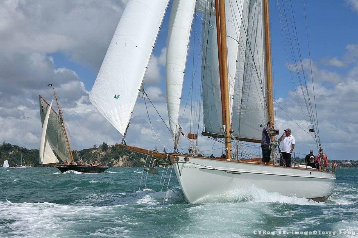 Alden Schooner Classic 1930:Ultimate Classic Yacht Sailing
