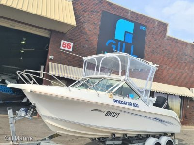 Chivers Predator 600 WITH 2019 MERCURY 135HP ONLY 220HOURS!!