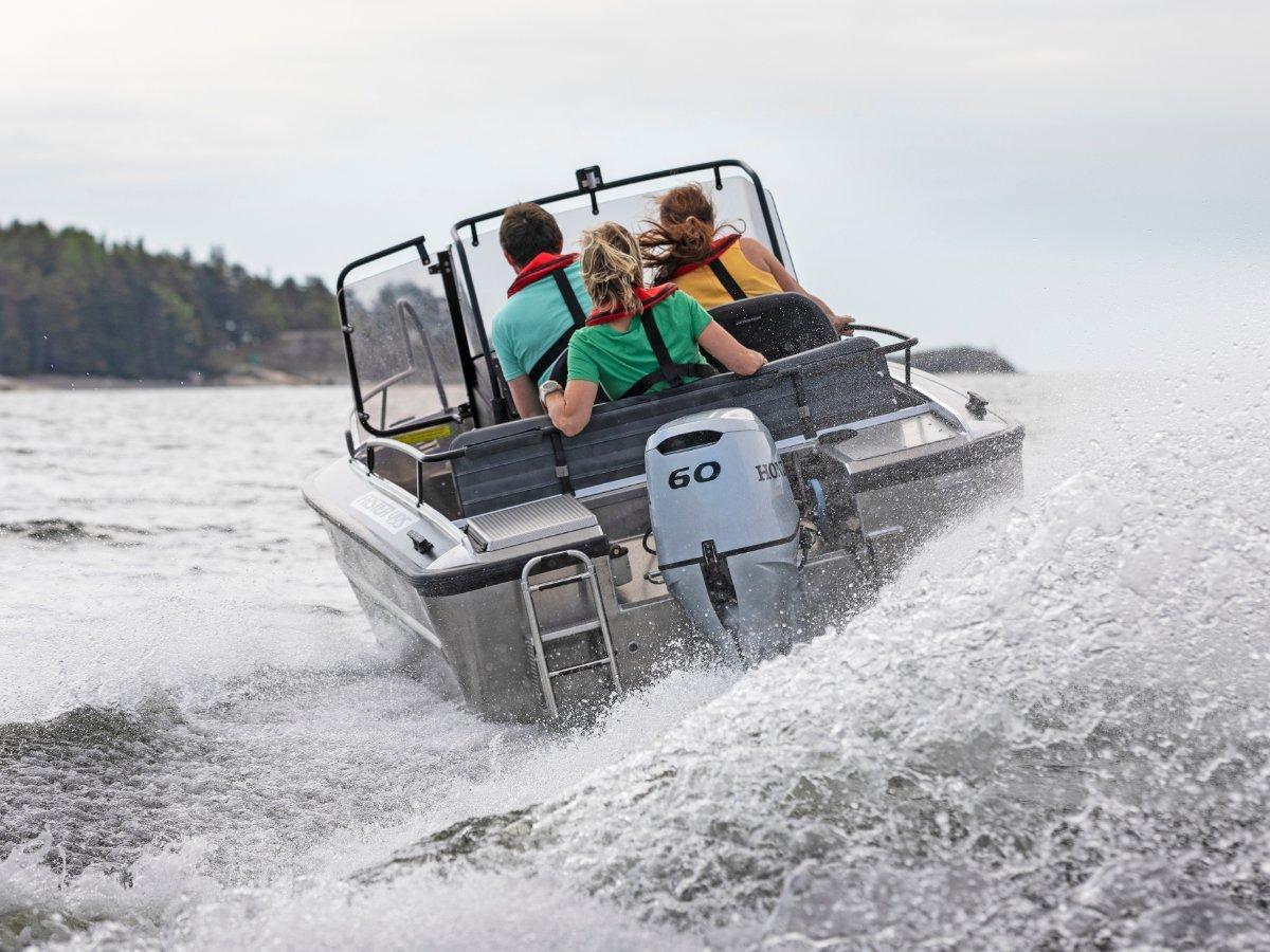 Faster Aluminium Boats 495 CX