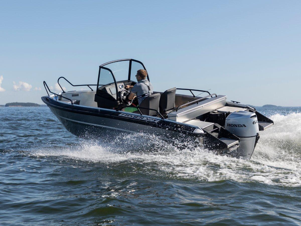 Faster Aluminium Boats 525 CC