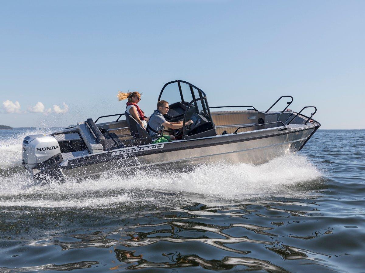 Faster Aluminium Boats 545 SC