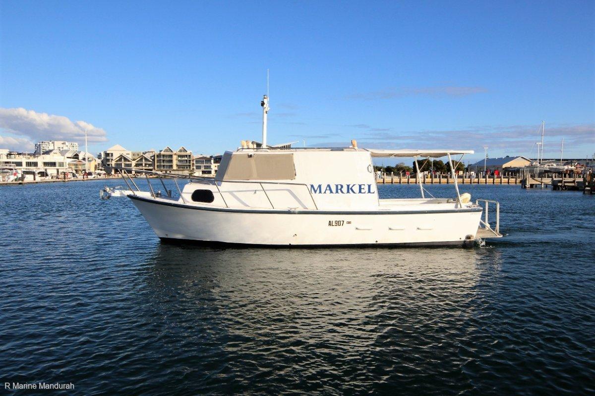 Custom 32 Converted Cray Boat *** $43,000 ***