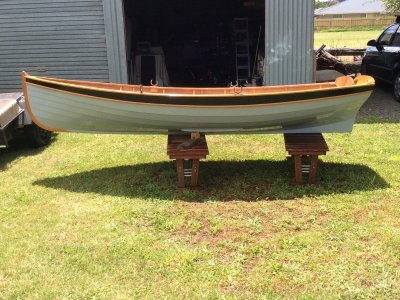 Custom Acorn 12 Rowing Dinghy