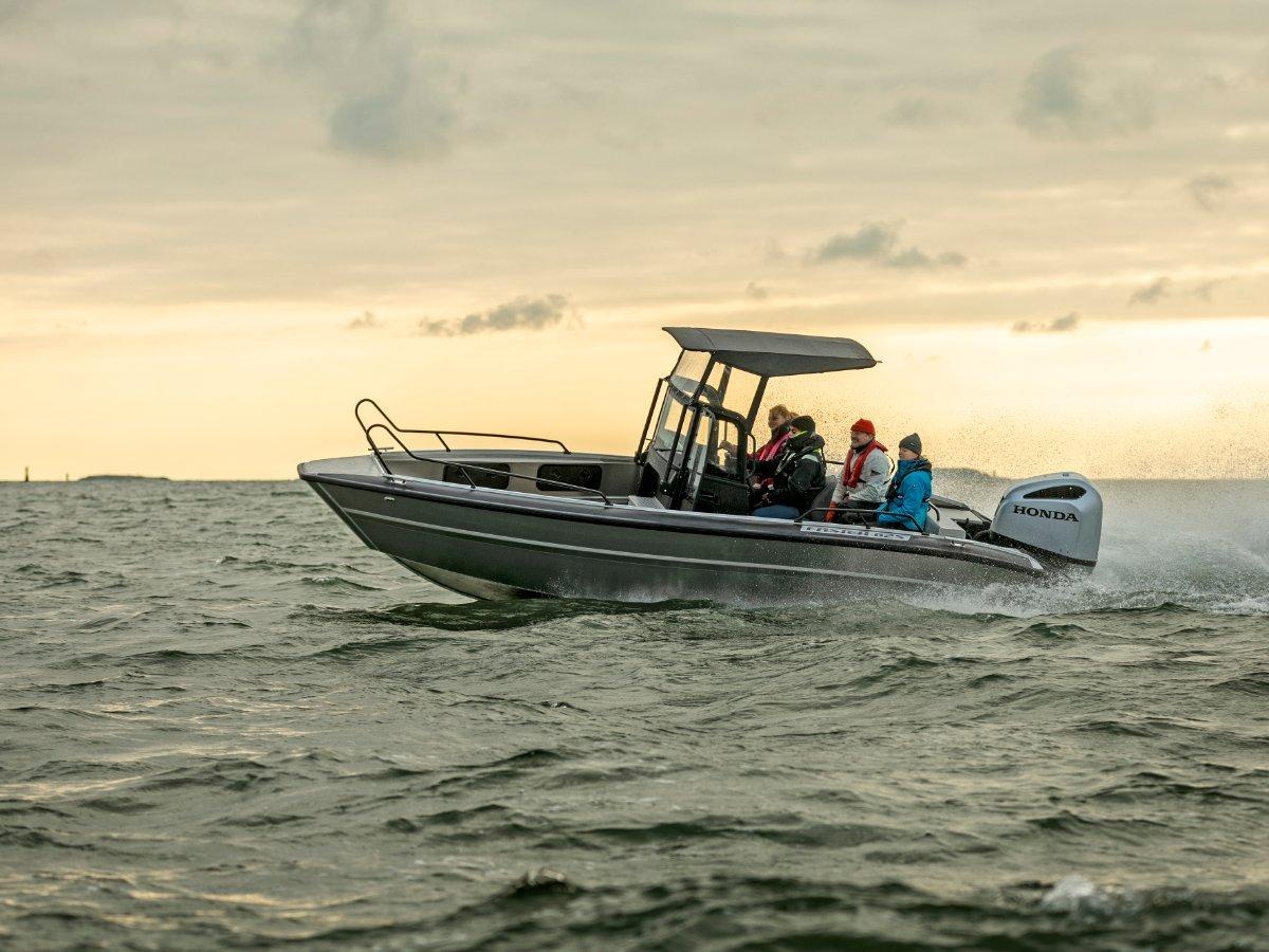 Faster Aluminium Boats 625 CC