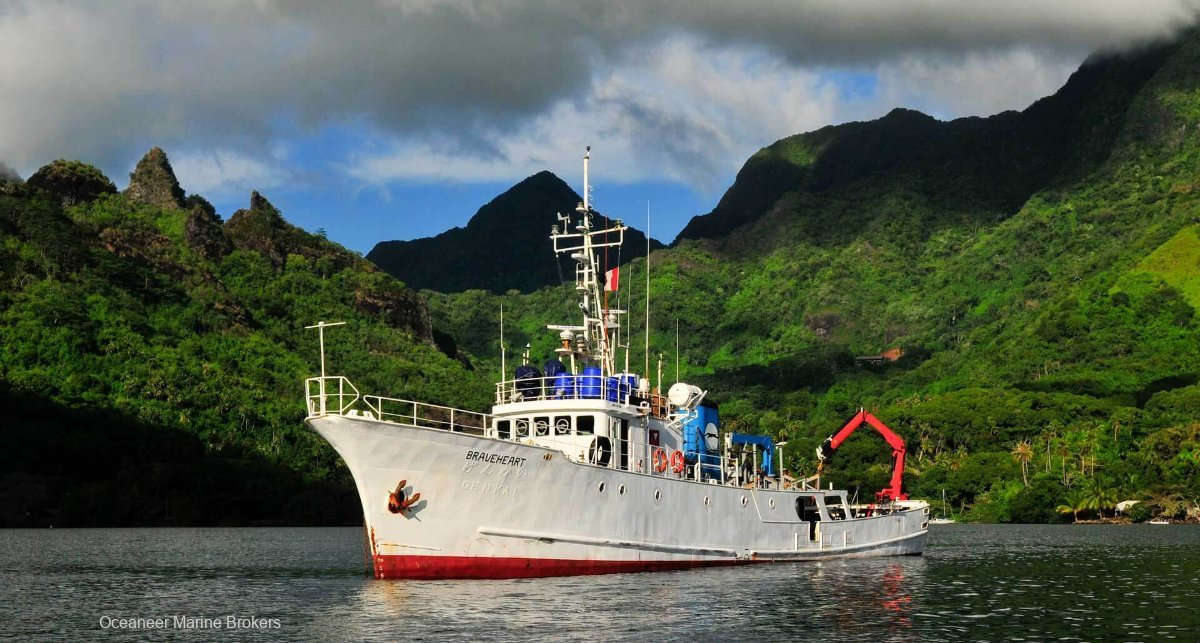 JUST LISTED Long Range Steel Expedition Vessel