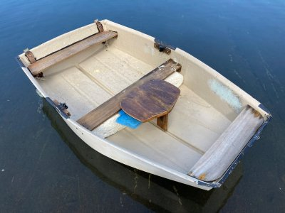 Dinghy 6ft light wheels Boats Tender Row Boat