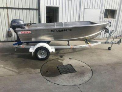Stacer 399 Seasprite Package Deal