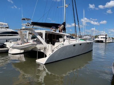 Fusion Catamarans 40 Owners 3 cabin version