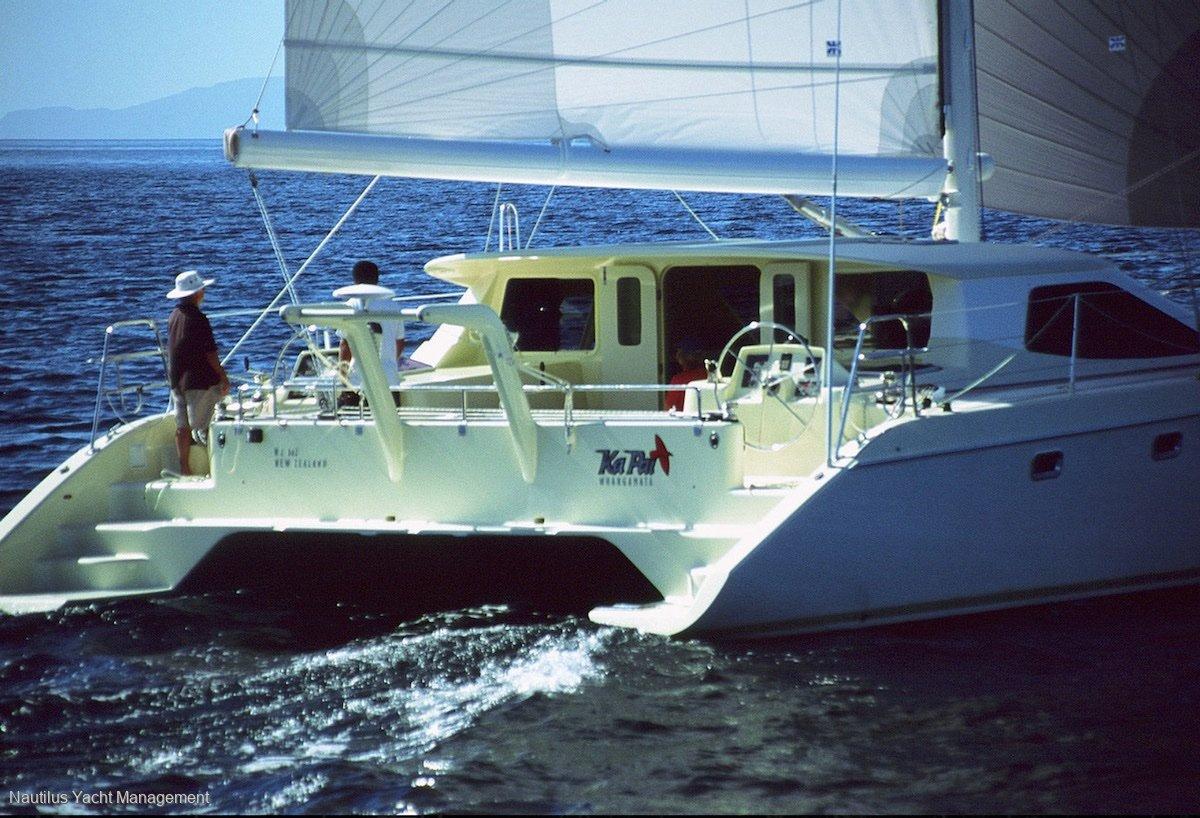 "Roger Hill 46 Sports Cruising Catamaran 14'15"""