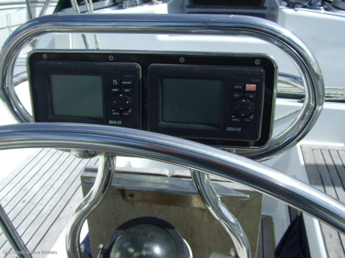 Whiting 47 Aft Cockpit