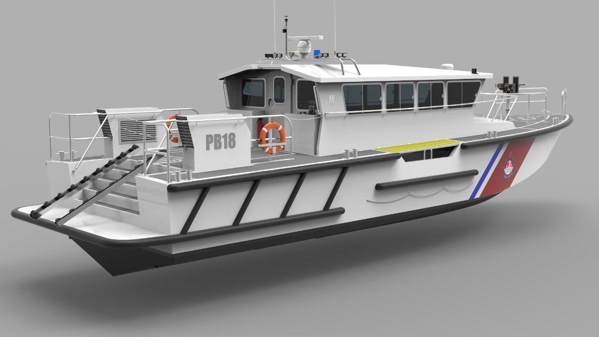 NEW BUILD - 18m Patrol Boat / SAR Vessel