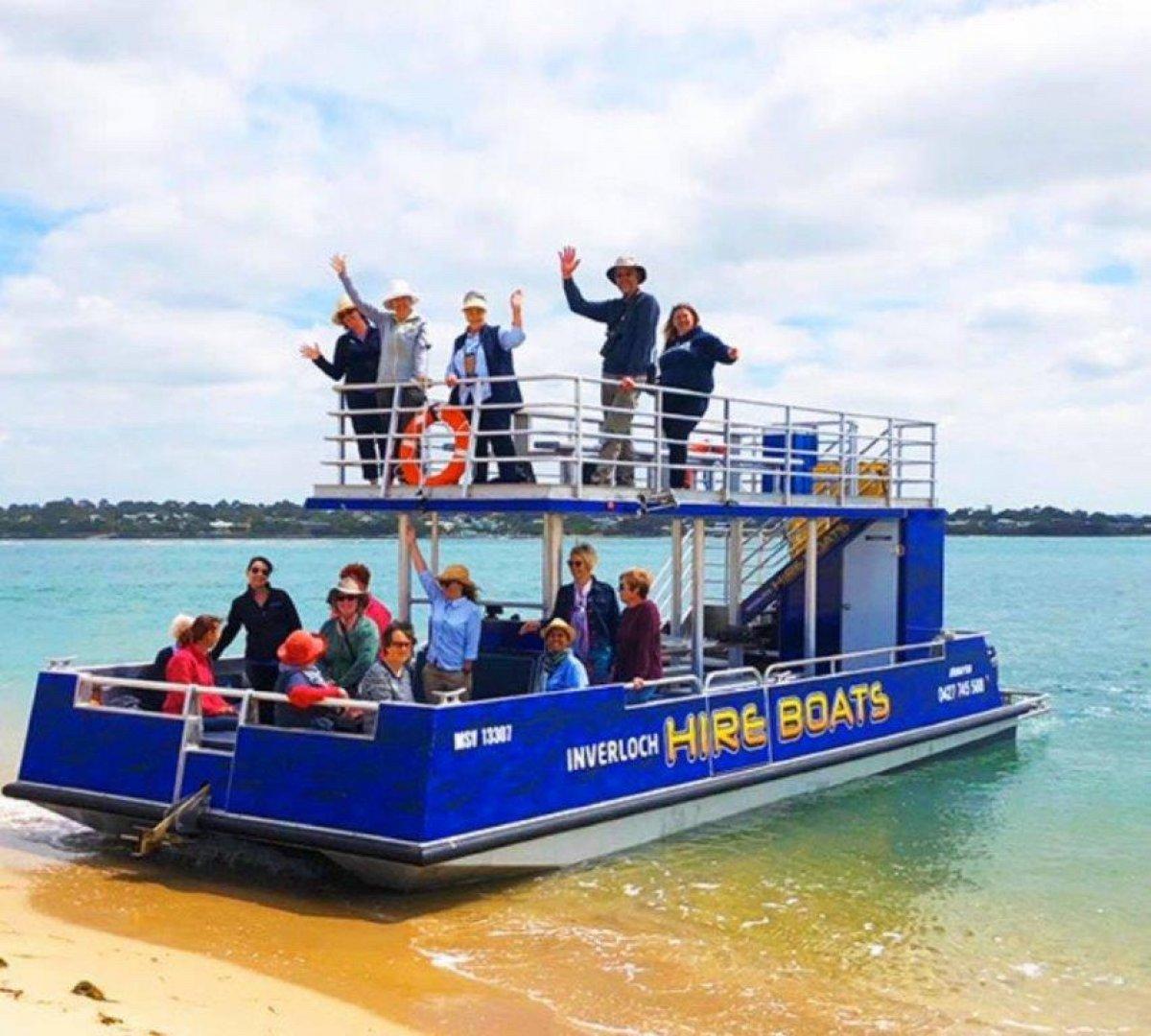 New 10m Tourist Barge
