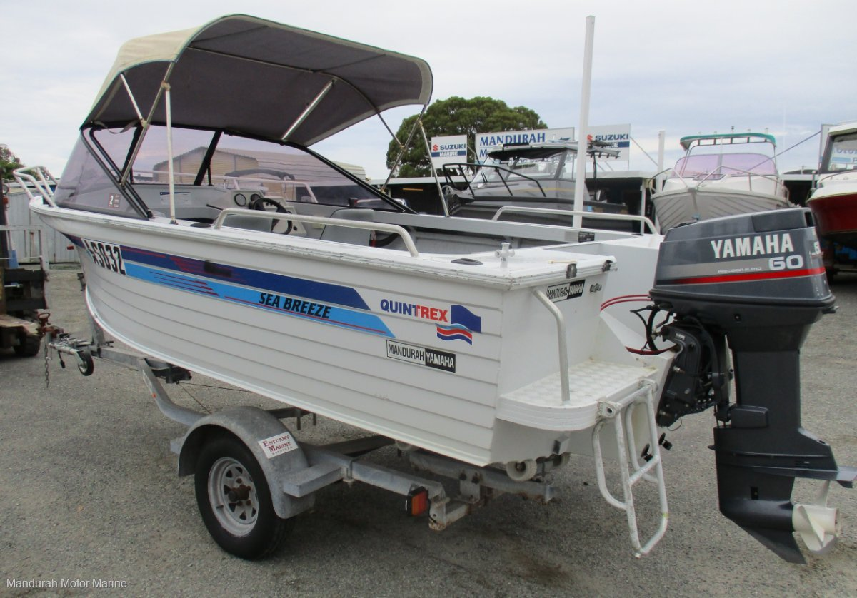 Quintrex 485 Sea Breeze SPACE FOR FISHING AND FAMILY