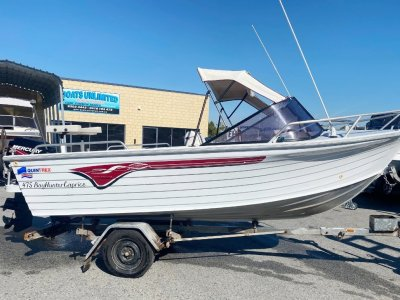 Quintrex 475 Bay Hunter Caprice EASY TO HANDLE