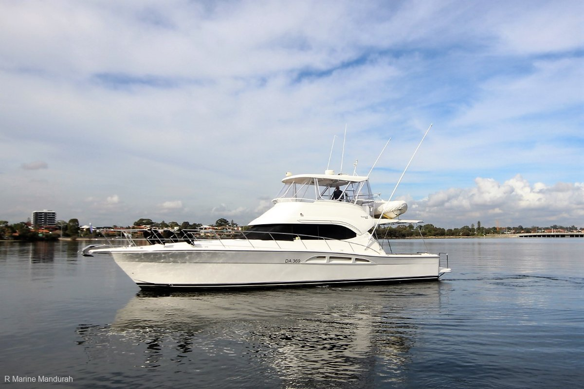 Riviera 47 Open Flybridge Series I Extended *** NOT ONE TO MISS ***